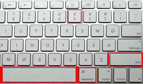 Comment capturer l'écran sur Mac?