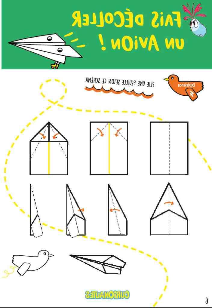Comment fabriquer le meilleur avion en papier?