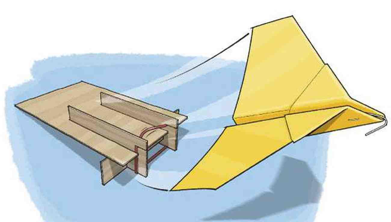 Comment faire un avion en carton léger?