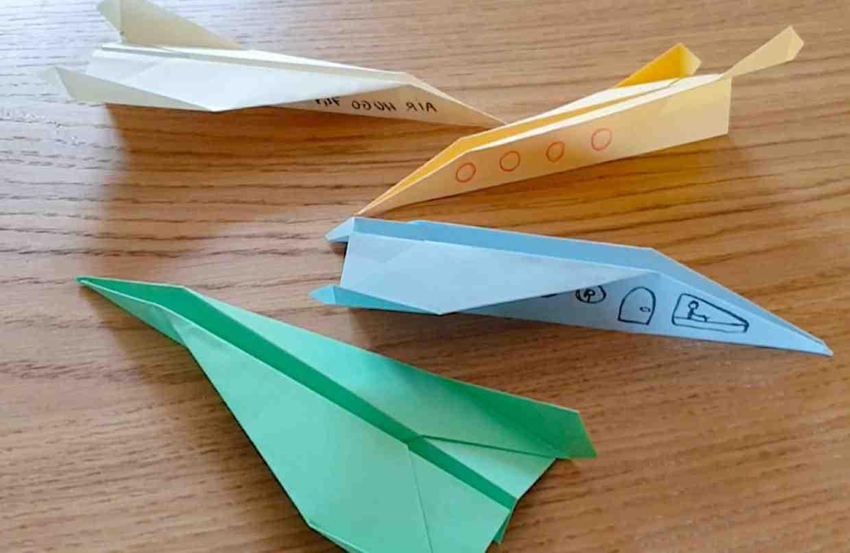 Comment faire un avion origami en papier?