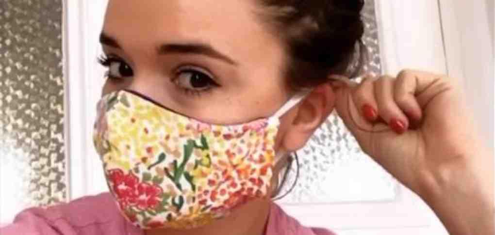 Comment faire un masque en tissu à bec de canard?