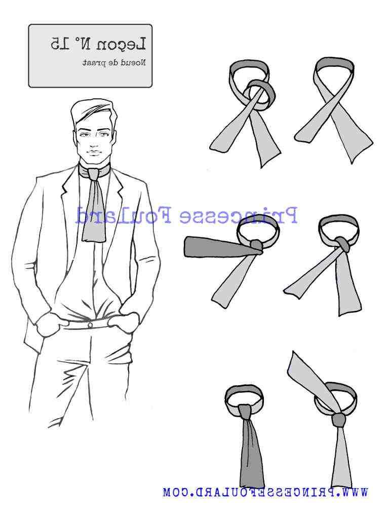 Comment faire un simple nœud de cravate?