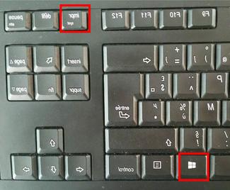 Comment faire une capture d'écran avec le clavier?