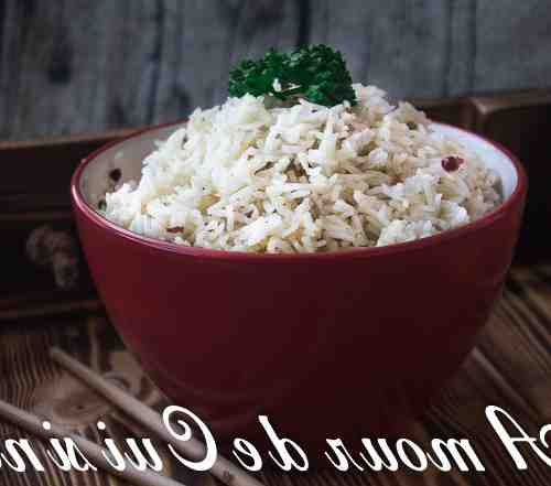Comment éviter que le riz ne colle?