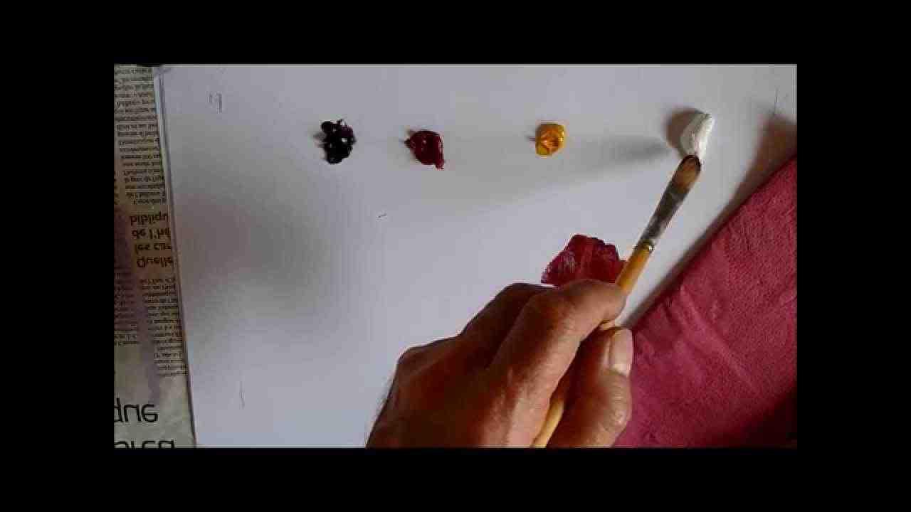 Comment faire de la rose acrylique?