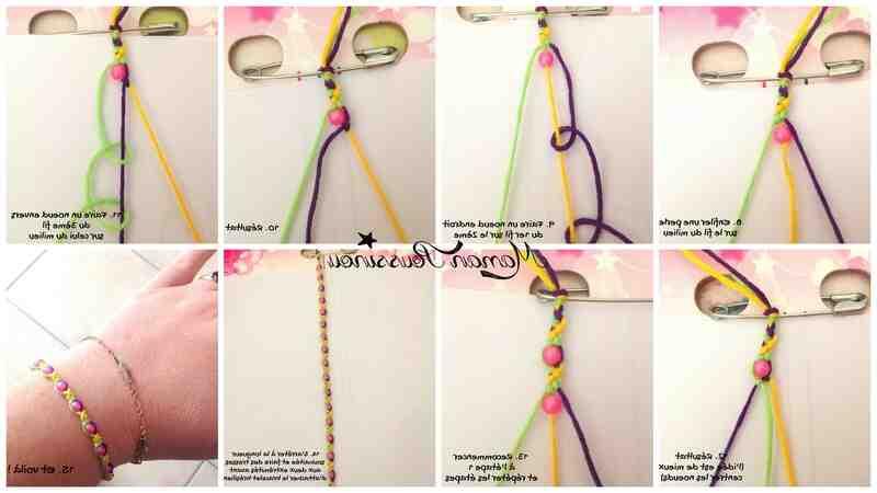 Comment faire un bracelet simple?