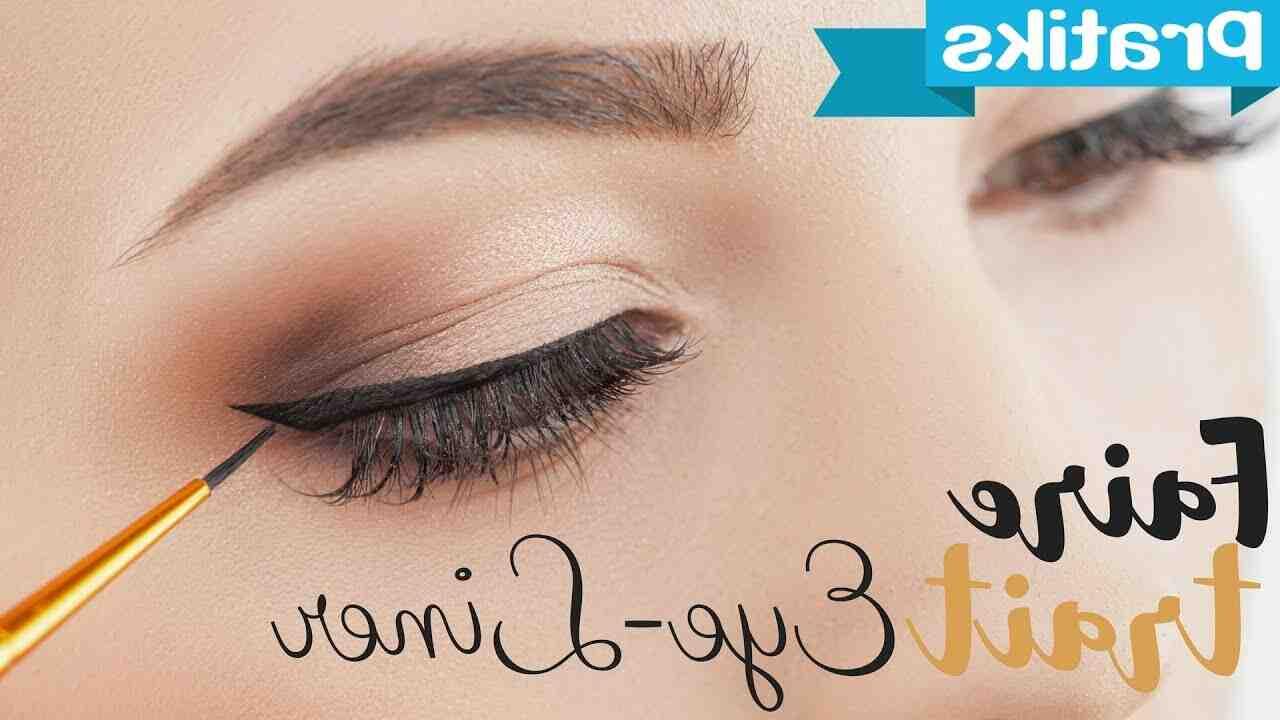 Comment créer une ligne d'eyeliner lisse?