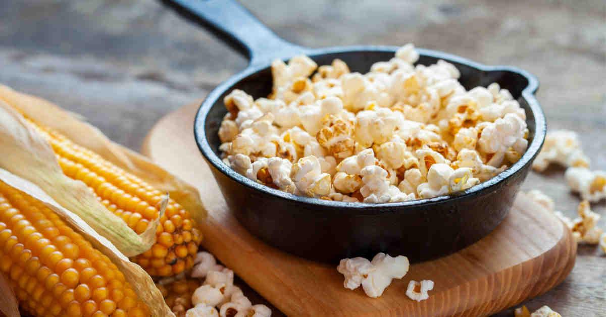 Comment faire du pop-corn avec du maïs frais?