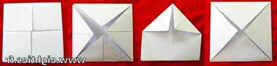 Comment faire et toucher la cocotte en papier?