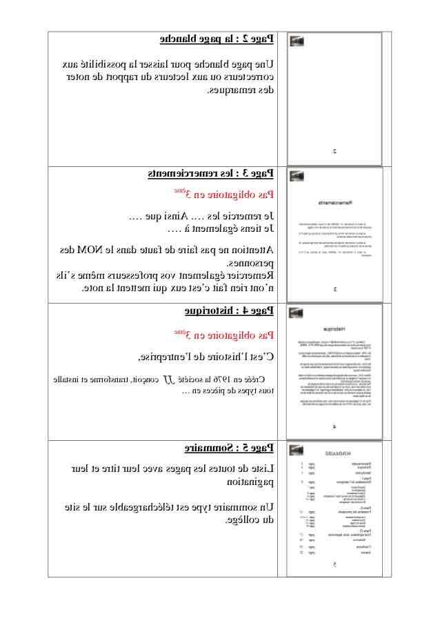 Comment résumez-vous un rapport de stage?