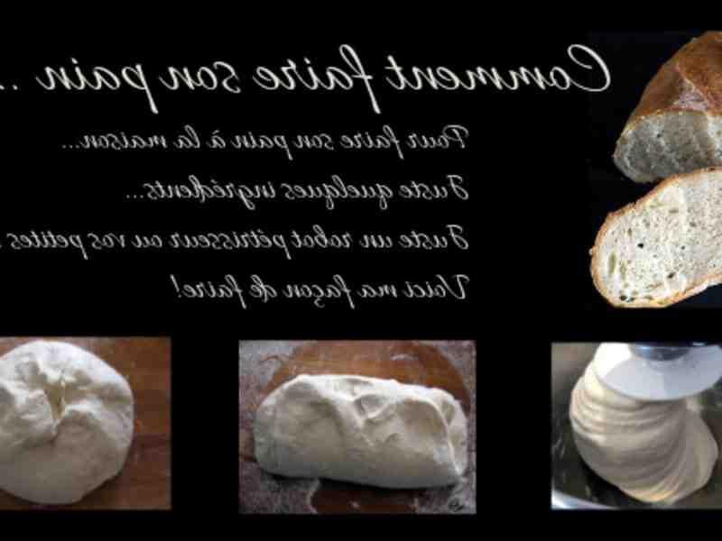 Quels sont les ingrédients pour faire du pain?