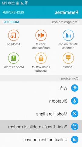 Comment partager un lien sur Samsung A21S?