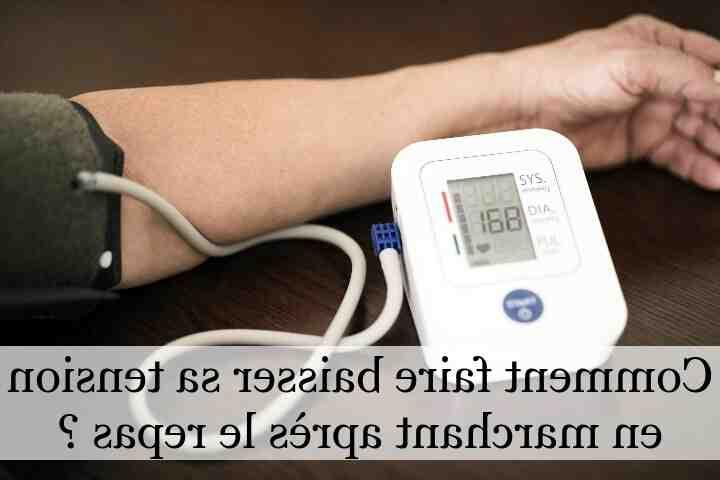 Comment réduire la pression artérielle de la grand-mère?