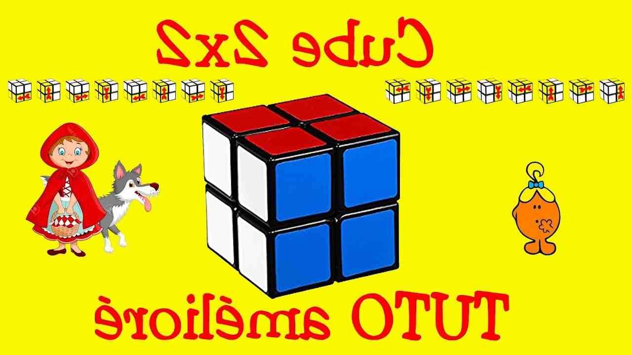 Comment réparer 2x2 Rubik's Cube?