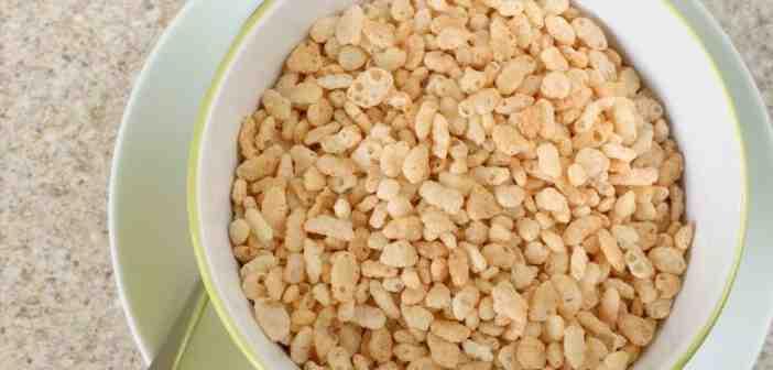 Comment faire du riz soufflé