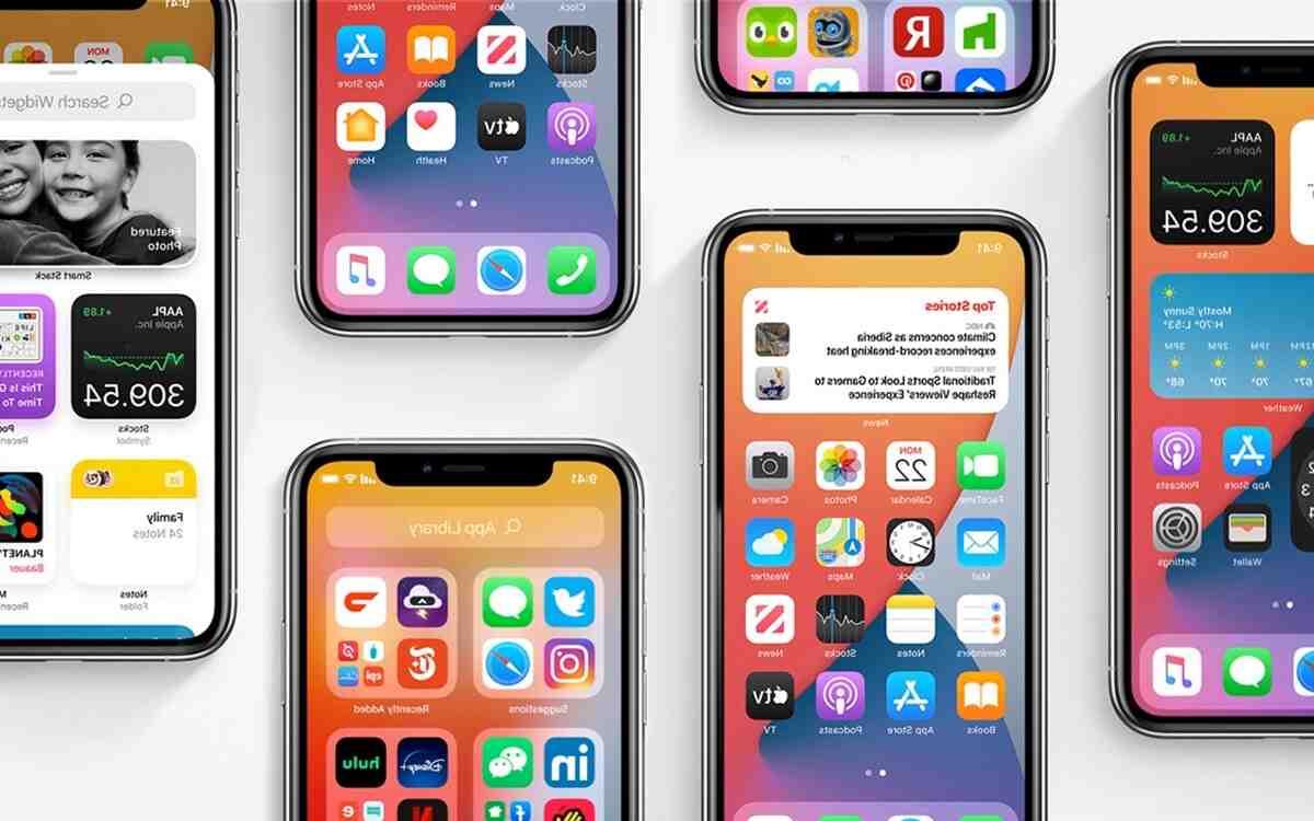 Pourquoi je n'ai pas la mise à jour iOS 14 ?