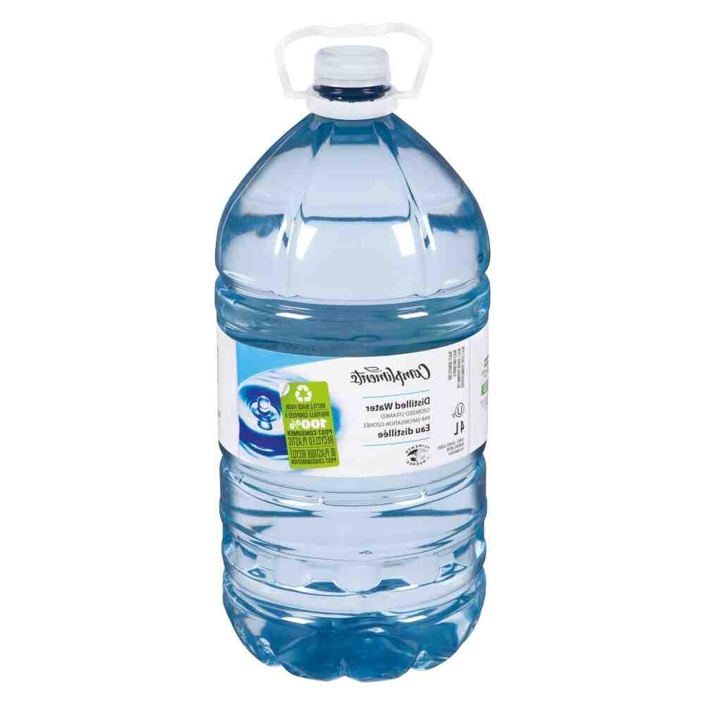 Pourquoi utiliser de l'eau déminéralisée ?