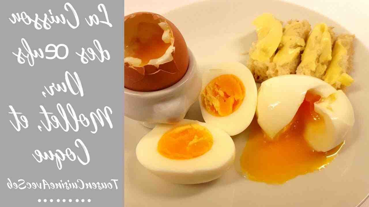Combien de temps met un œuf à cuire ?