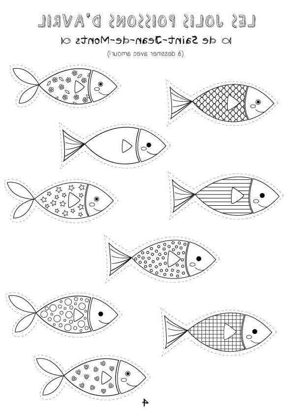 Comment attacher les poissons d'avril?