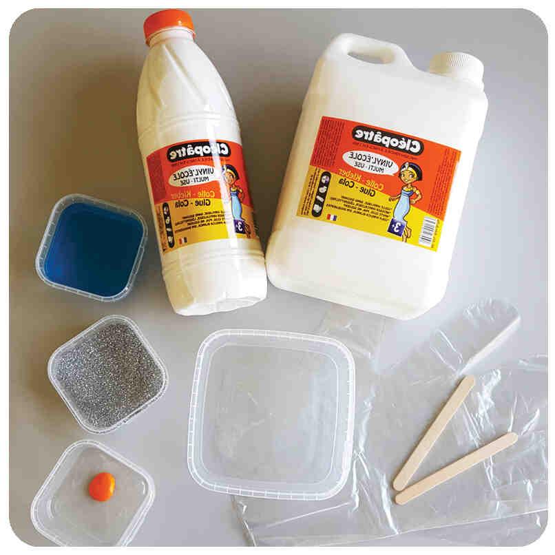 Comment faire du slime sans colle ?