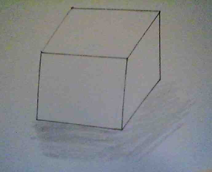 Comment faire un dessin en trois D ?