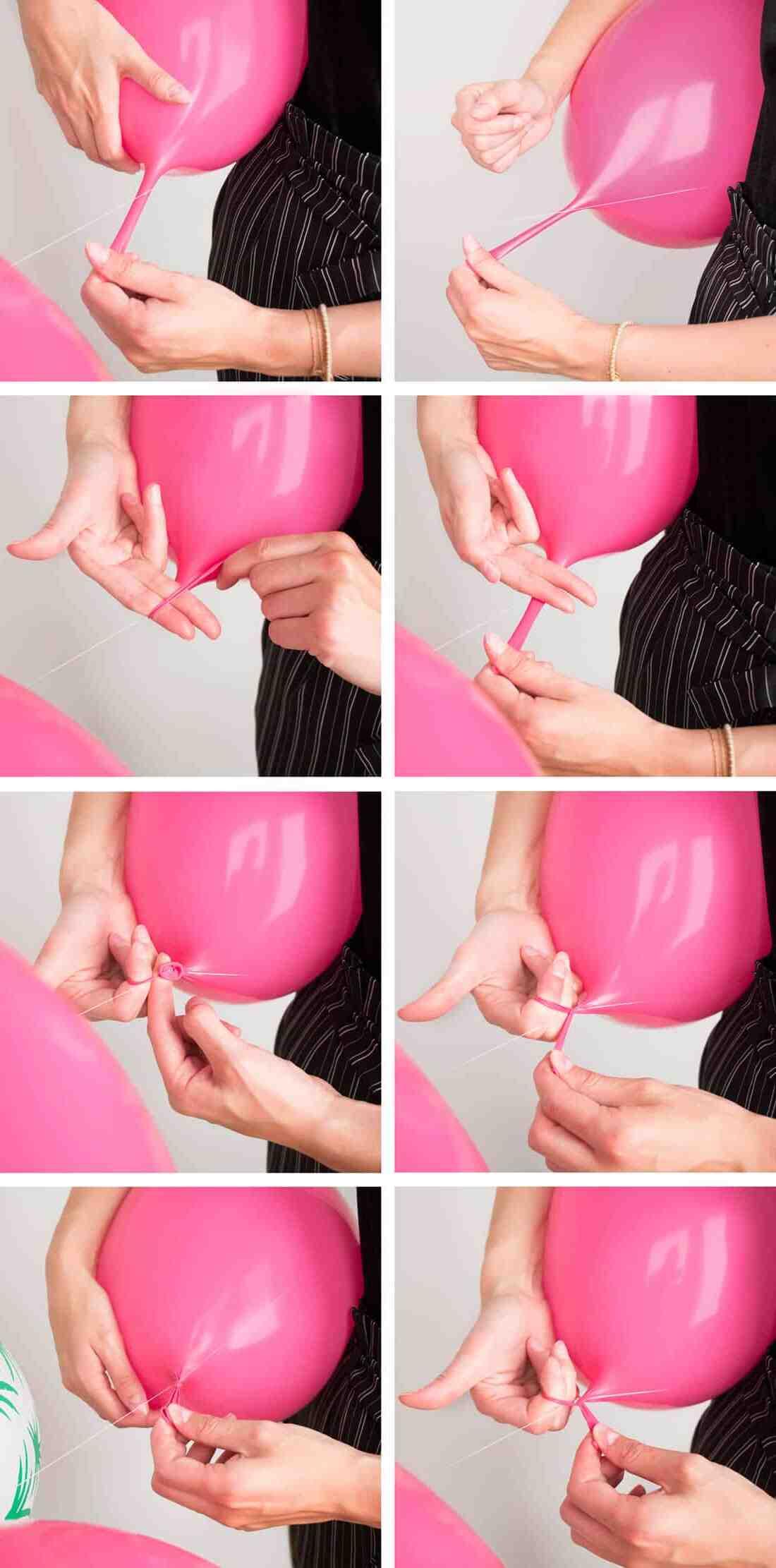 Comment faire une arche de ballon