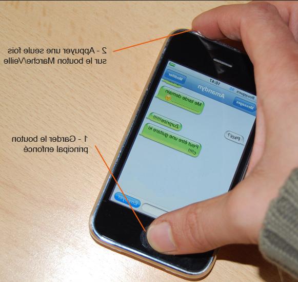Comment faire une capture d écran sur iphone